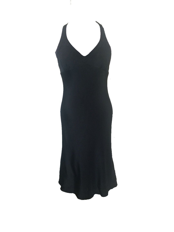 Size 6 J. Crew Silk Halter Dress